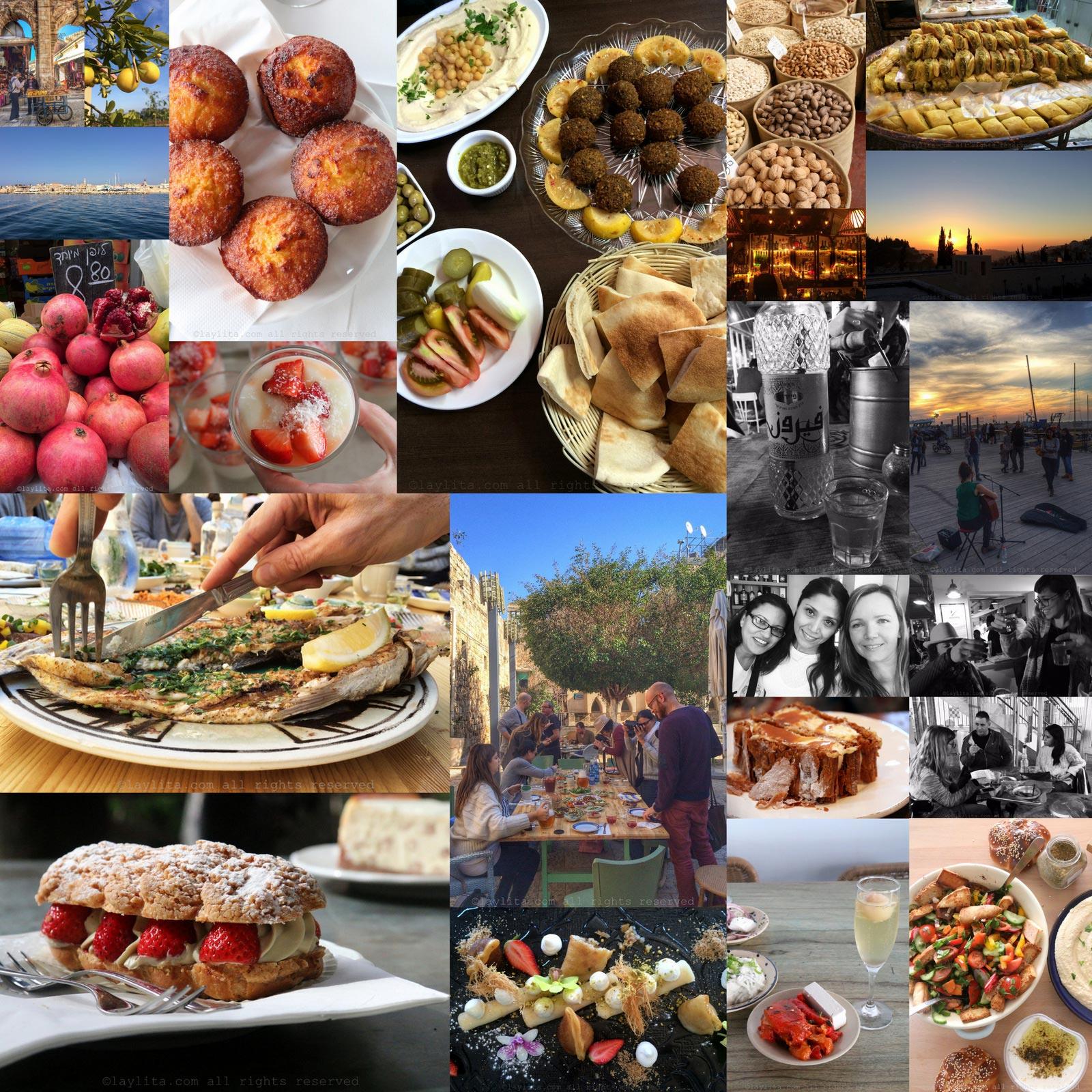 Vibe Israel Comida food blogger trip