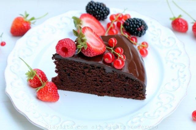 recette facile de cake au chocolat