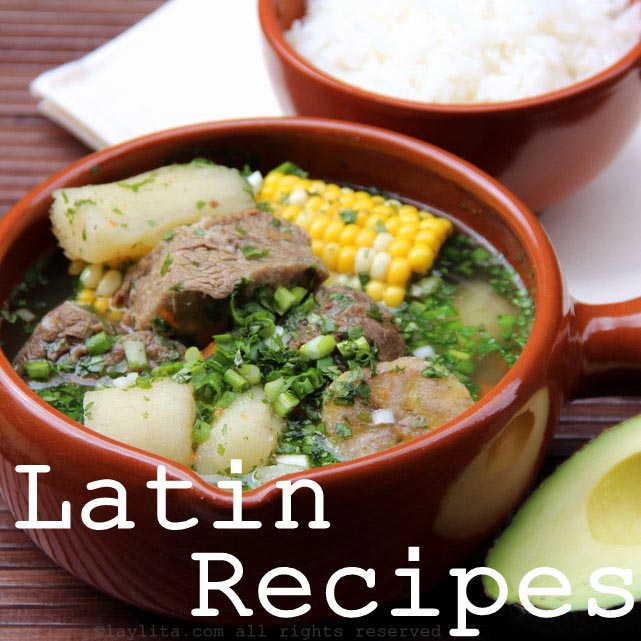 Latin Recipes