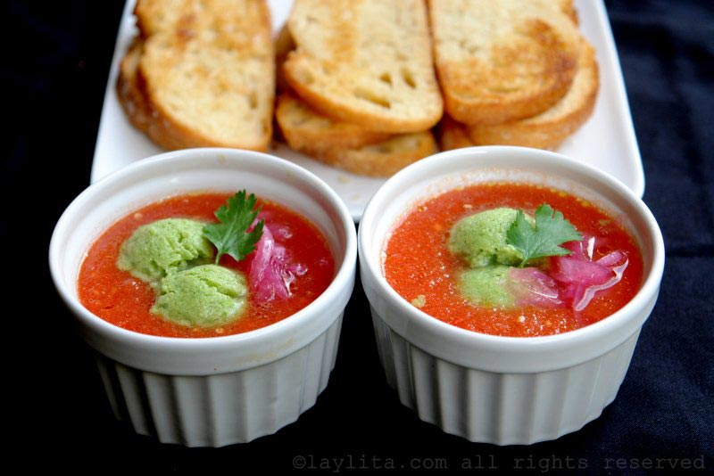 Gazpacho {Chilled tomato soup}