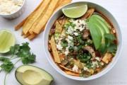 Mushroom tortilla soup recipe
