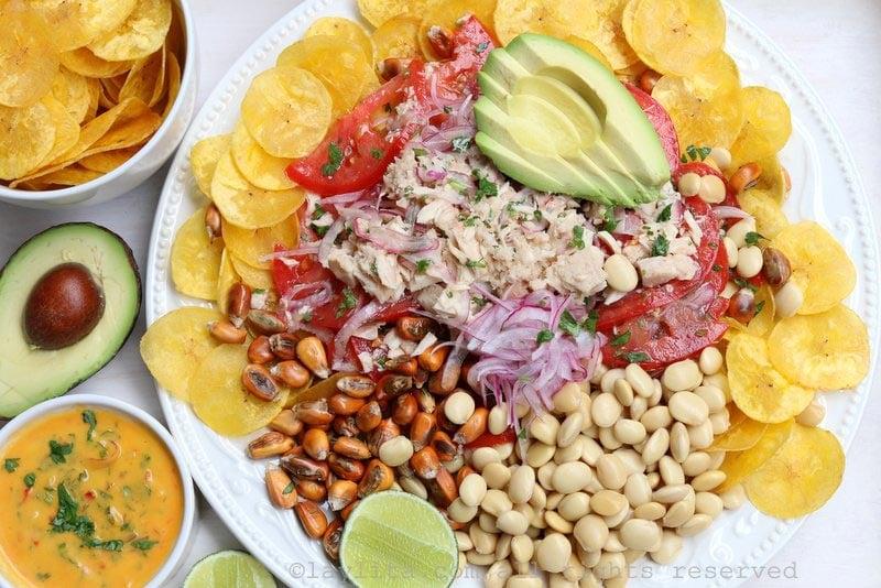 Tuna fish ceviche {Ceviche volquetero}