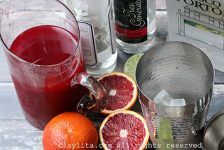 For a single or doble cocktail you can use a shaker
