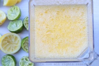 Blend the mango mix until smooth