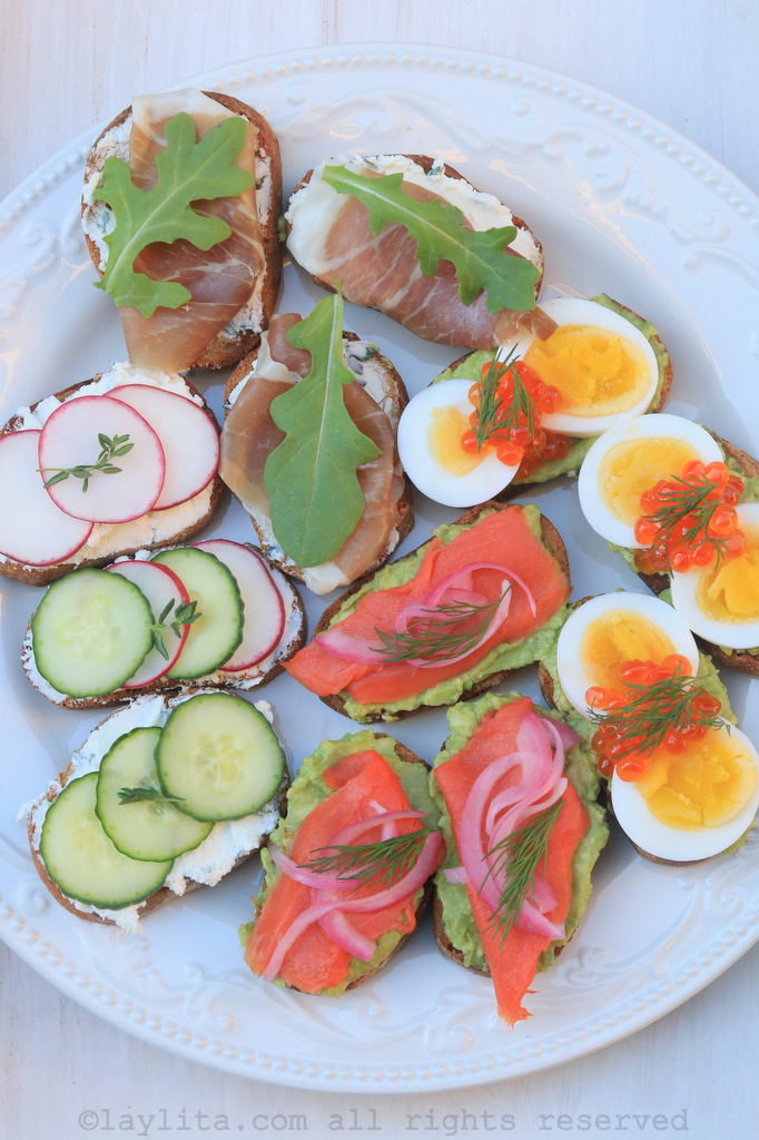 Tartines and crostini recipes