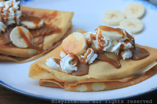 How to make sweet crepes