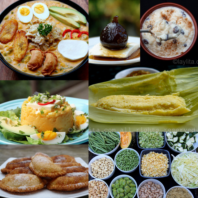 Ecuadorian Easter or Semana Santa recipes