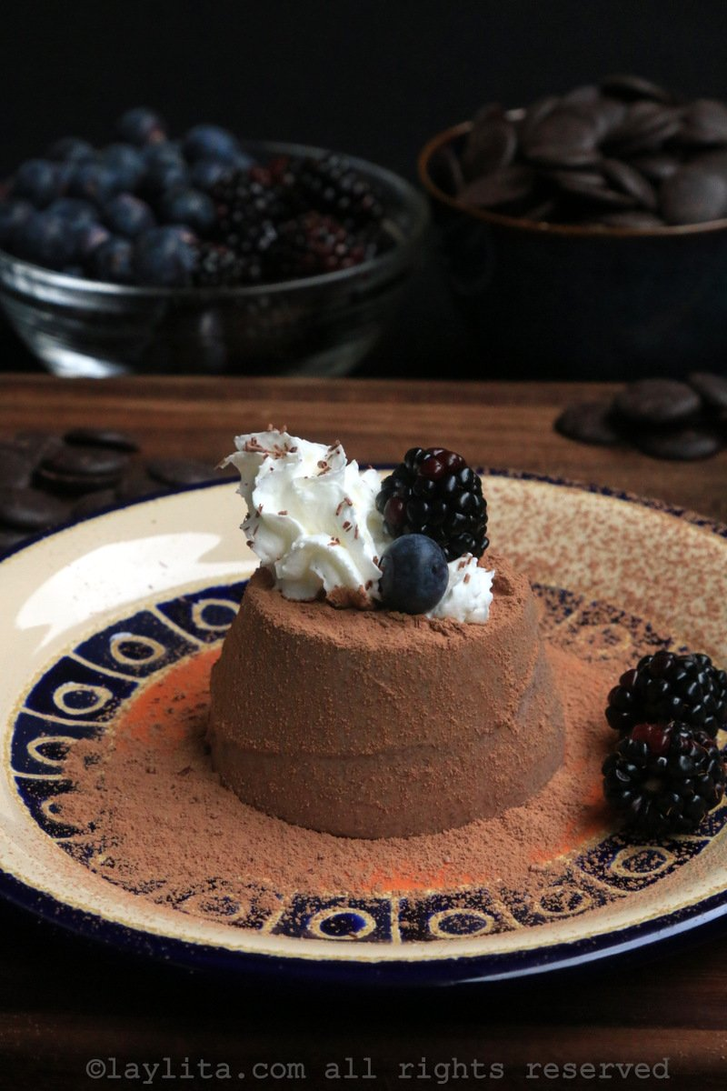 Chocolate panna cotta recipe