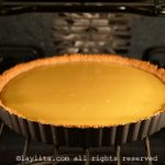 Bake the passion fruit pie