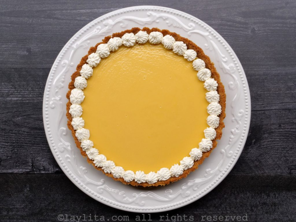 Easy passion fruit pie recipe