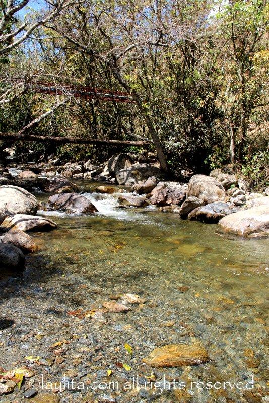 Swimming spot in Vilcabamba