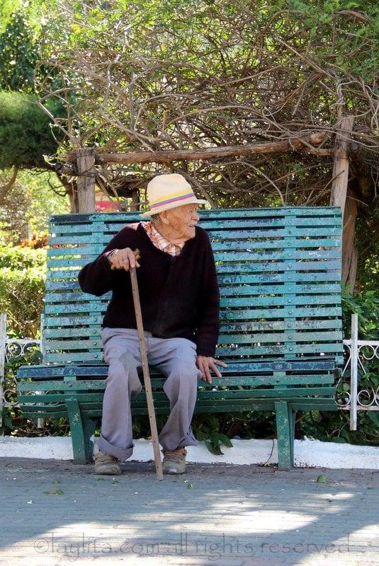 Viejito or longevo in Vilcabamba