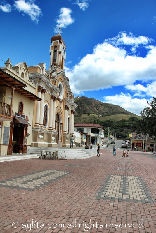 Vilcabamba's church