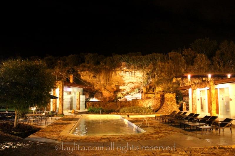 Piedra de Agua thermal pools and spa in Cuenca, Ecuador