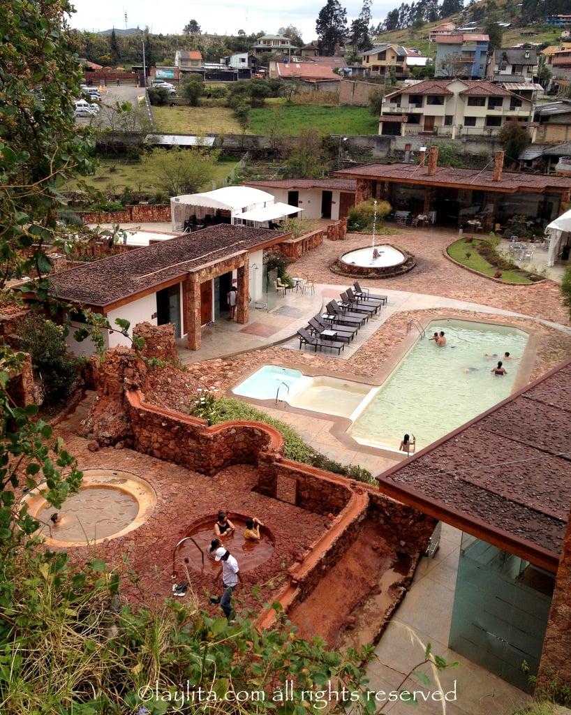 Piedra de Agua thermal pool in Cuenca