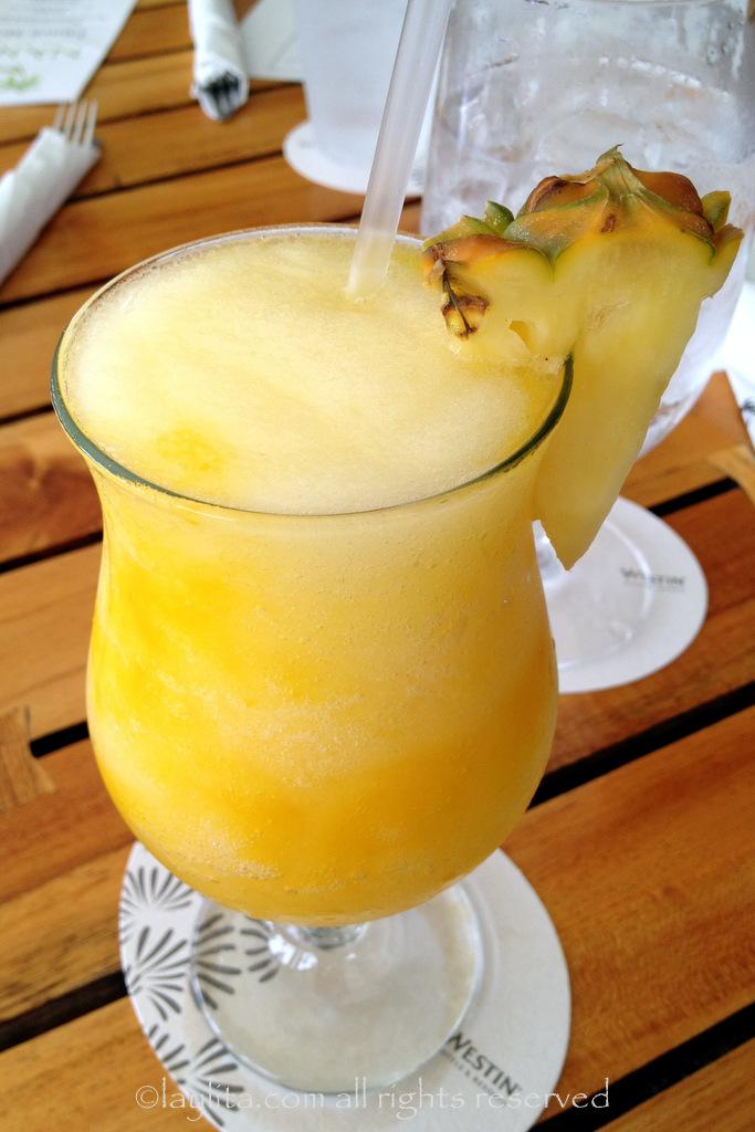 Hawaiian Pineapple Prince cocktail