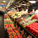 Vegetables and fruits at Pike Place Market