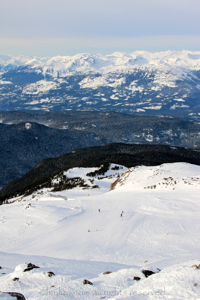 View From The Top Of Whistler Mountain Laylita S Travels