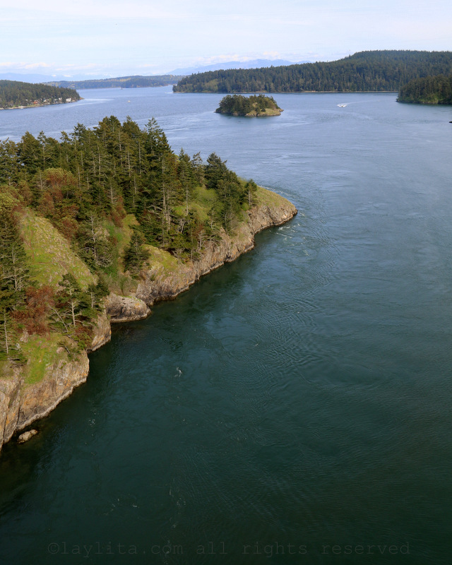 Deception Pass on Whidbey Island