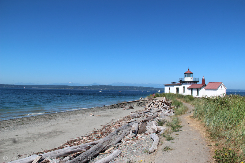 Discovery Park lighthouse in Seattle