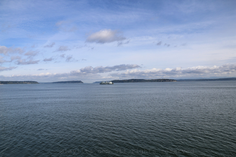 Ferry ride from Mukilteo to Whidbey Island