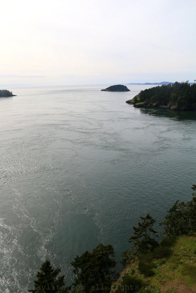 View from Deception Pass bridge