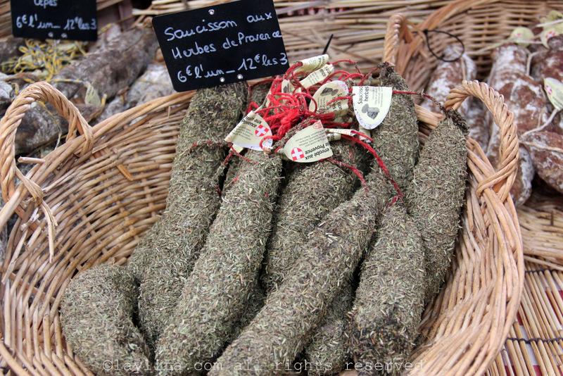Saucisson with herbes de provence
