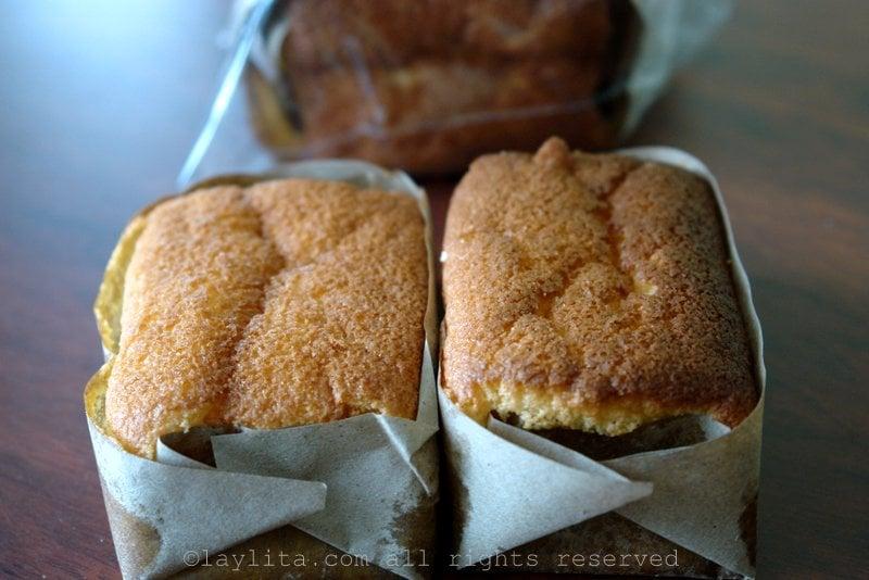 Bizcochuelo cakes in Loja