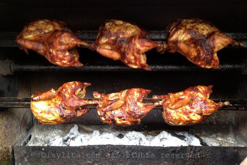 Pollos a la brasa in Loja
