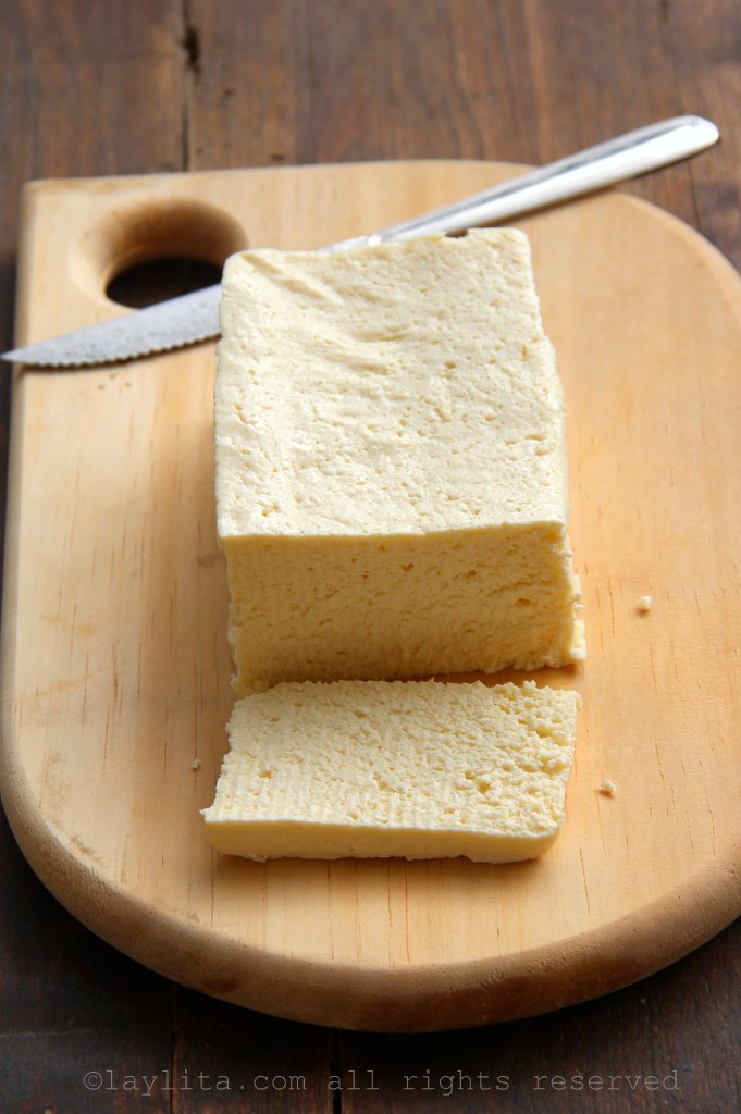 Queso de corte cheese from Loja