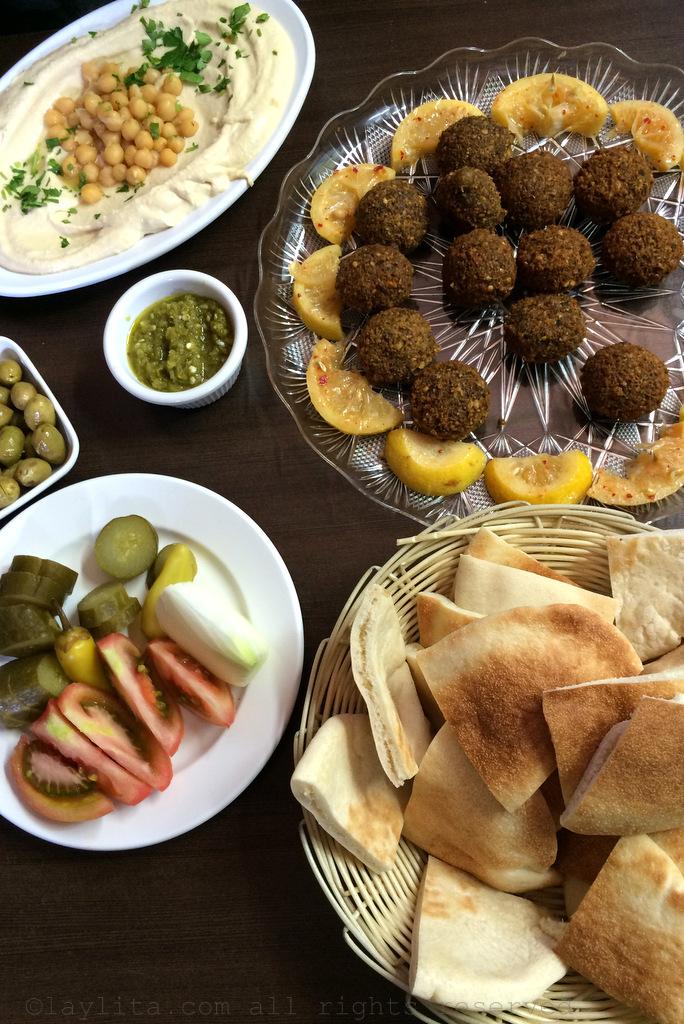 Amazing falafel in Akko Israel