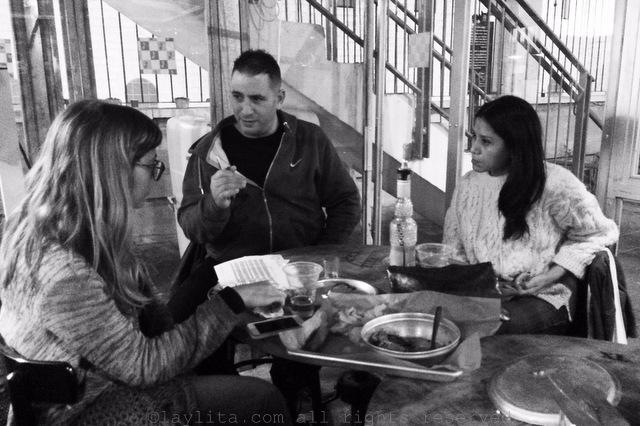 Meeting Chef Avi Levy at Beit Hakavan in Jerusalem