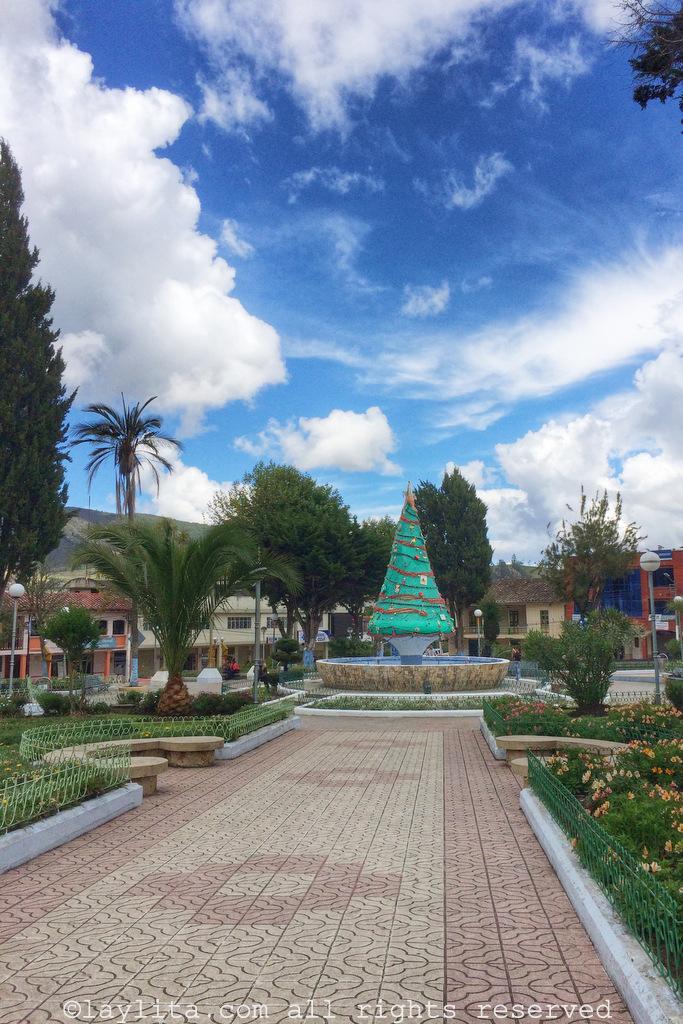 Parque Central - Saraguro