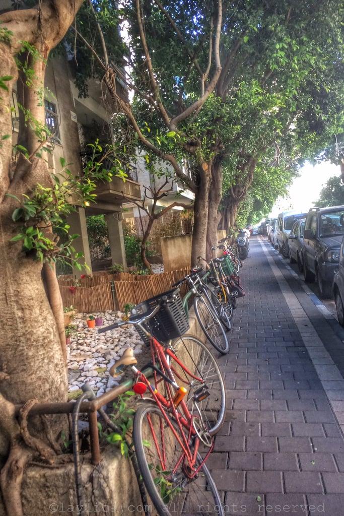 Street in Tel Aviv