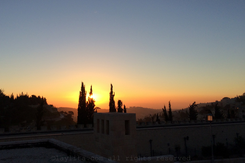 Sunrise in Jerusalem