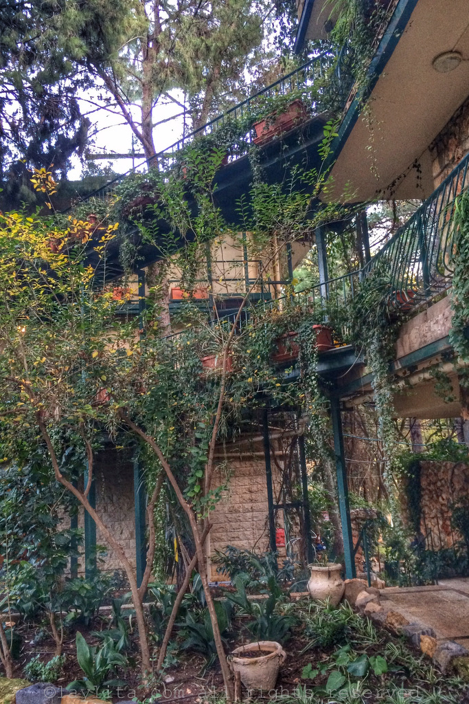 The charming Mizpe Hayamim Spa Hotel