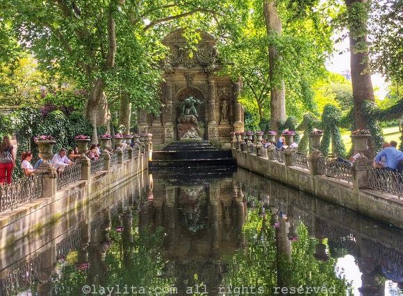 Medici Fountain at the Luxembourg Garden