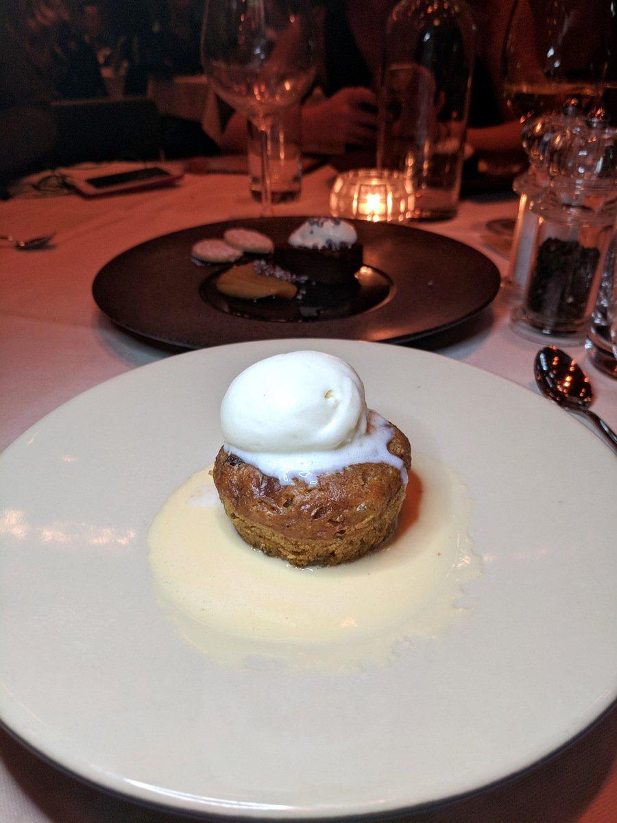 Clootie Dumpling with Whisky Butterscotch ice cream
