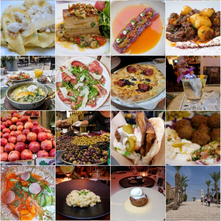 What I ate in Israel at the Round Tables Festival