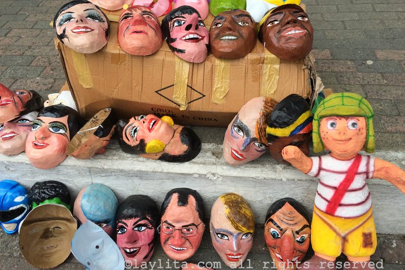 Año Viejo doll masks for sale
