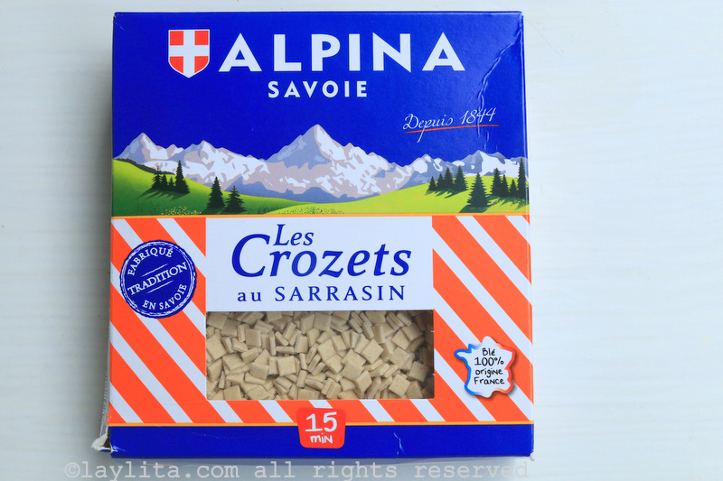 Crozets from the Alps