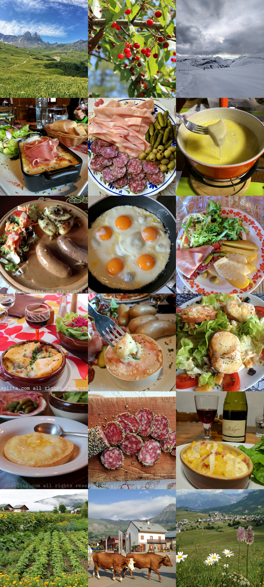 Foods to try in the Alps