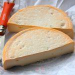 Reblochon raw milk cheese in the Alps