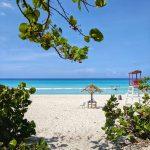 Varadero beach view in Cuba