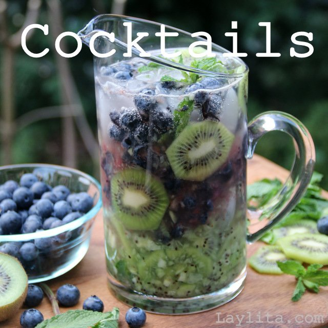 Cocktail recipes from Laylita.com