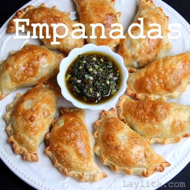 Empanada recipes from Laylita.com
