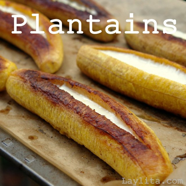 Plantain recipes from Laylita.com