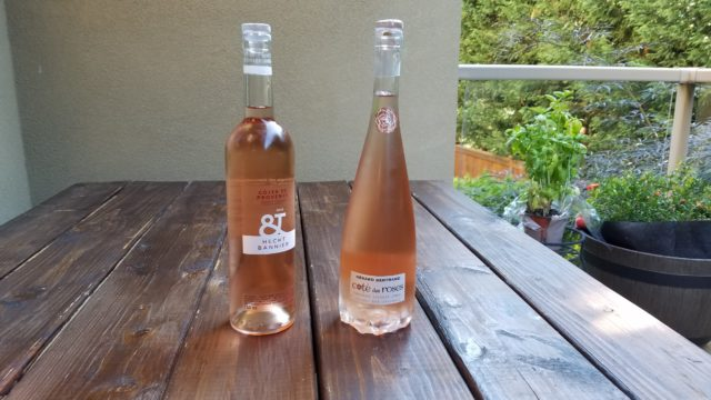 French rosé wines and food pairings