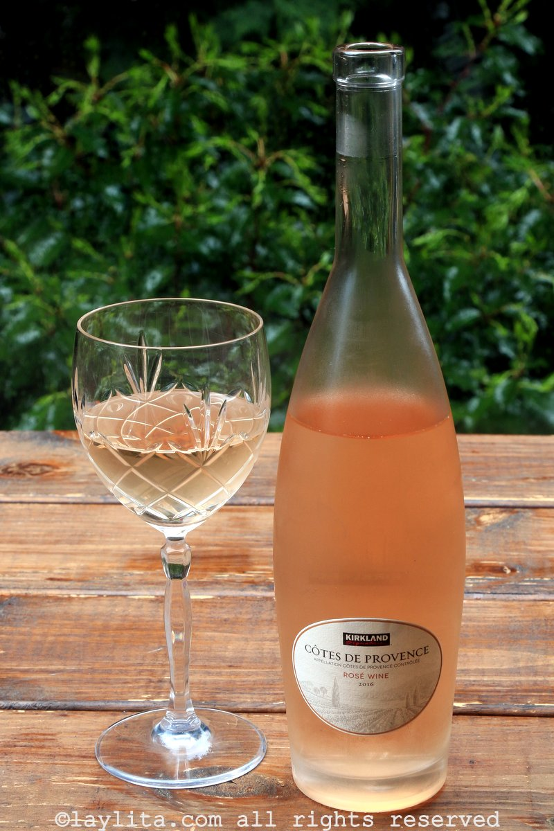 Côtes de Provence rosé wine
