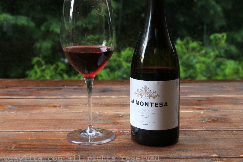 La Montesa Spanish Rioja red wine review {2013}